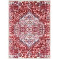 Surya Dynine Floral 2-Foot x 3-Foot Accent Rug in Pink