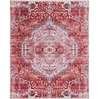 Surya Dynine Floral 7-Foot 10-Inch x 10-Foot 3-Inch Area Rug in Pink