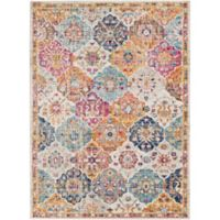 Surya Fenalun Graphic 9-Foot 3-Inch x 12-Foot 6-Inch Area Rug in Saffron