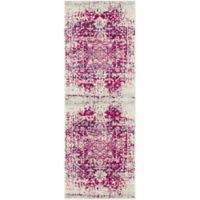 Surya Fenalun 2-Foot 7-Inch x 7-Foot 3-Inch Runner in Pink