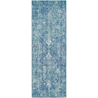 Surya Fenalun 2-Foot 7-Inch x 7-Foot 3-Inch Runner in Blue