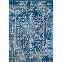 Surya Fenalun 9-Foot 3-Inch x 12-Foot 6-Inch Area Rug in Dark Blue/White