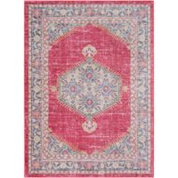 Surya Dynine 2-Foot x 3-Foot Accent Rug in Pink/Blue
