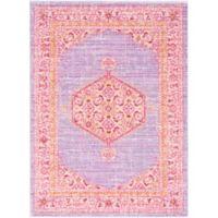 Surya Dynine 3-Foot 11-Inch x 5-Foot 7-Inch Area Rug in Purple/Pink