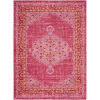 Surya Dynine 3-Foot 11-Inch x 5-Foot 7-Inch Area Rug in Bright Pink