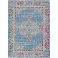 Surya Dynine 3-Foot 11-Inch x 5-Foot 7-Inch Area Rug in Bright Blue