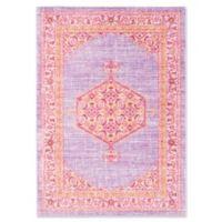 Surya Dynine 5-Foot 3-Inch x 7-Foot 6-Inch Area Rug in Purple/Pink