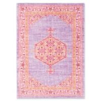 Surya Dynine 5-Foot 3-Inch x 7-Foot 6-Inch Area Rug in Purple/Pink