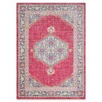 Surya Dynine 5-Foot 3-Inch x 7-Foot 6-Inch Area Rug in Pink/Blue