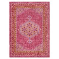 Surya Dynine 5-Foot 3-Inch x 7-Foot 6-Inch Area Rug in Bright Pink