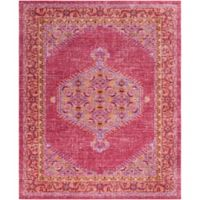 Surya Dynine 7-Foot 10-Inch x 10-Foot 3-Inch Area Rug in Bright Pink