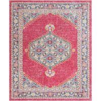Surya Dynine 9-Foot x 11-Foot 10-Inch Area Rug in Pink/Blue