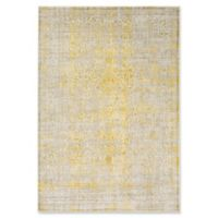 Ladeen Classic 5-Foot 2-Inch x 7-Foot 6-Inch Area Rug in Mustard