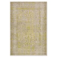Surya Ladeen Classic Floral Border 5-Foot 2-Inch x 7-Foot 6-Inch Area Rug in Olive