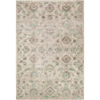 Surya Ladeen Classic Geometric Floral 2-Foot 2-Inch x 3-Foot Accent Rug in Emerald