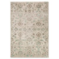 Surya Ladeen Classic Geometric Floral 5-Foot 2-Inch x 7-Foot 6-Inch Area Rug in Emerald