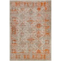 Surya Ladeen Classic Geometric Border 2-Foot 2-Inch x 3-Foot Accent Rug in Burnt Orange