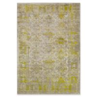 Surya Ladeen Classic Geometric Border 5-Foot 2-Inch x 7-Foot 6-Inch Area Rug in Olive