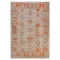Surya Ladeen Classic Geometric Border 5-Foot 2-Inch x 7-Foot 6-Inch Area Rug in Burnt Orange