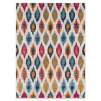 Surya Fenalun Color Spots 3-Foot 11-Inch x 5-Foot 7-Inch Area Rug in Light Grey