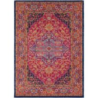 Surya Fenalun Medallion 9-Foot 3-Inch x 12-Foot 6-Inch Area Rug in Pink