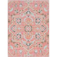 Surya Dynine 3-Foot 11-Inch x 5-Foot 7-Inch Area Rug in Pale Pink