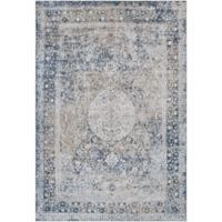 Surya Lorenna Classic 2-Foot x 3-Foot Accent Rug in Grey