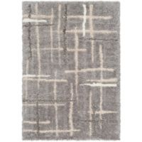 Surya 2-Foot x 3-Foot Cuvert Modern Accent Rug in Grey