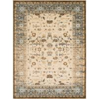 Surya Percival Classic 2-Foot x 3-Foot Accent Rug in Tan