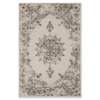Surya Jenae Floral 5-Foot 3-Inch x 7-Foot 6-Inch Area Rug in Brown