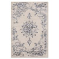 Surya Jenae Floral 5-Foot 3-Inch x 7-Foot 6-Inch Area Rug in Blue