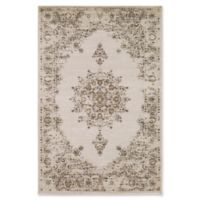 Surya Jenae Floral 5-Foot 3-Inch x 7-Foot 6-Inch Area Rug in Wheat