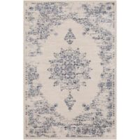 Surya Jenae Floral 7-Foot 10-Inch x 10-Foot 6-Inch Area Rug in Blue