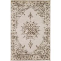 Surya Jenae Floral 7-Foot 10-Inch x 10-Foot 6-Inch Area Rug in Wheat