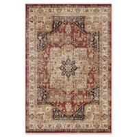 Surya Jenae Traditional 5-Foot 3-Inch x 7-Foot 6-Inch Area Rug in Rust