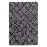Surya Biscayne Global 584 5-Foot x 7-Foot 6-Inch Area Rug in Medium Grey