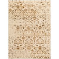 Surya Percival Medallions and Damask 2-Foot x 3-Foot Accent Rug in Tan