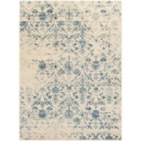 Surya Percival Medallions and Damask 8-Foot x 10-Foot Area Rug in Blue