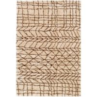 Surya Biscayne Global 8 2-Foot x 3-Foot Accent Rug in Khaki