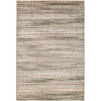 Surya Ladeen Modern56 2-Foot 2-Inch x 3-Foot Accent Rug in Burnt Orange
