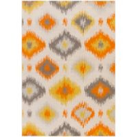 Surya Ayomide Globalog 2-Foot 2-Inch x 4-Foot Accent Rug in Ivory