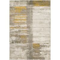 Surya Ladeen Modern859 2-Foot 2-Inch x 3-Foot Accent Rug in Gold