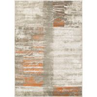 Surya Ladeen Modern859 2-Foot 2-Inch x 3-Foot Accent Rug in Burnt Orange