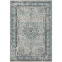 Surya Acacia 7-Foot 6-Inch x 10-Foot -6-Inch Area Rug in White