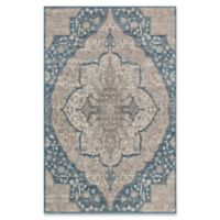 Surya Calput Large Medallion 5-Foot x 8-Foot Area Rug in Taupe/Blue