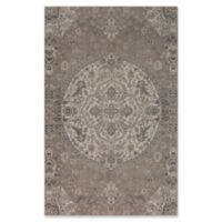 Surya Calput Circular Medallion 5-Foot x 8-Foot Area Rug in Taupe