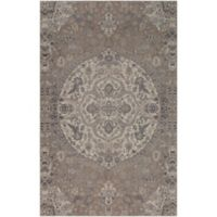 Surya Calput Circular Medallion 9-Foot x 12-Foot Area Rug in Taupe