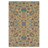 Surya Alok 5-Foot 3-Inch x 7- Foot 6- Inch Area Rug in Olive