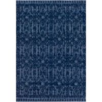 Surya Solaris Global 2-Foot x 3-Foot 3-Inch Accent Rug in Dark Blue