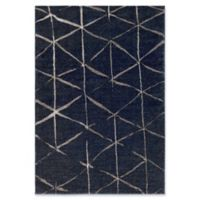 Surya Solaris Global 5-Foot 3-Inch x 7-Foot 6-Inch Area Rug in Dark Blue